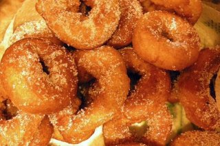 Receta de rosquillas de anís al horno