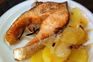 Receta de salmón a la plancha con limón