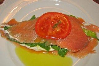 Receta de salmón ahumado relleno