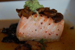 Salm n con champi ones receta - Salmon con champinones ...