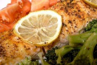 Receta de salmón con gambas