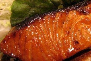 Receta de salmón con salsa de soja