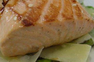 Receta de salmón fresco
