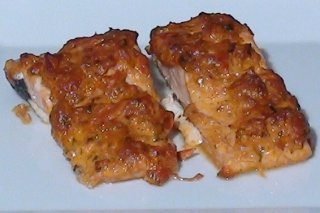 Receta de salmón massala