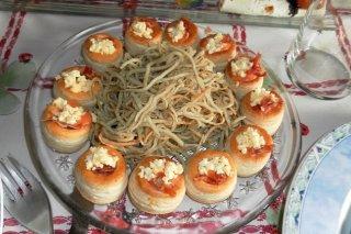 Receta de salmorejo con gulas al estilo chanquete