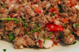 Receta de salpicón de atún con palitos de cangrejo