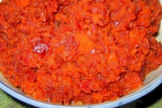 Receta de salsa casera de pimiento rojo