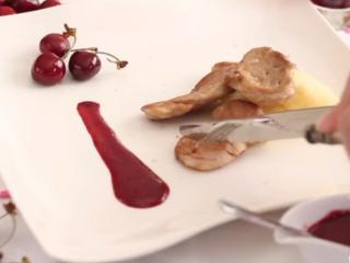 Receta de salsa de cerezas