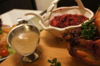 Receta de salsa para pavo navideño