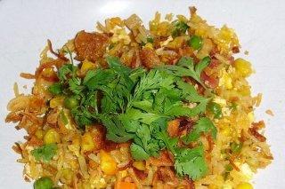 Receta de salteado de arroz