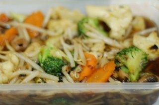 Receta de salteado de brotes de soja y brócoli