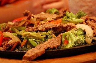 Receta de salteado de ternera con verduras