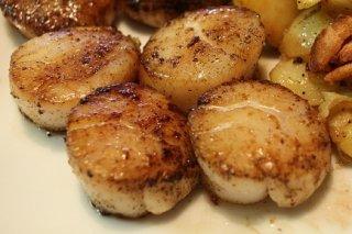 Receta de salteado de vieiras y patatas