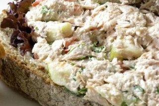 Receta de sándwich de atún con mayonesa