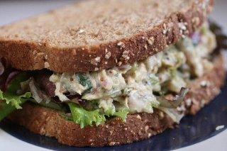 Receta de sándwich de atún con mostaza