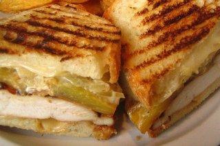 Receta de sandwich de cordero con cebolla