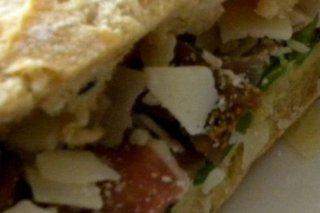 Receta de sándwich de jamón serrano