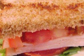 Receta de sandwich de jamón y huevo
