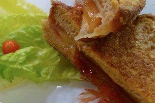 Receta de sandwich de jamón y queso