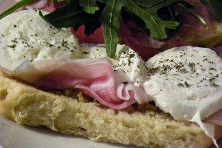Receta de sándwich de mozzarella