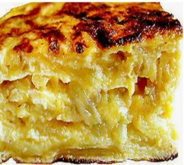 Receta de sandwich de patatas y cebollas con queso