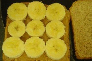 Receta de sandwich de plátano