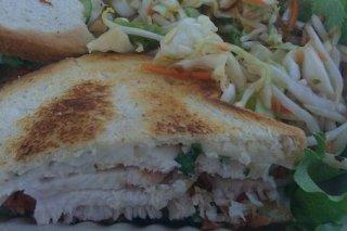 Receta de sandwich de pollo asado