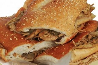 Receta de sandwich de pollo parmesano
