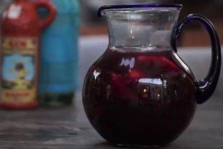Receta de sangría de vino tinto