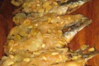Receta de sardinas a la veneciana