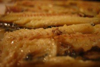 Receta de sardinas asadas al ajillo