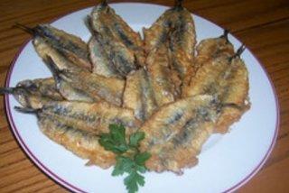 Receta de sardinas fritas enharinadas