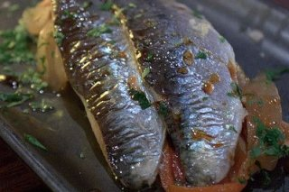 Receta de sardinas picantes en escabeche