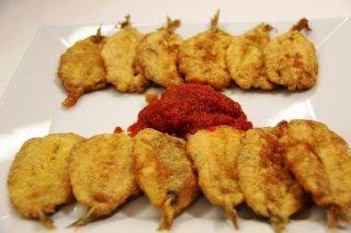 Receta de sardinas rebozadas con tomate frito