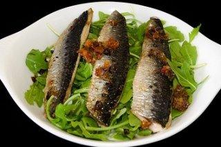 Receta de sardinas rellenas de pimientos