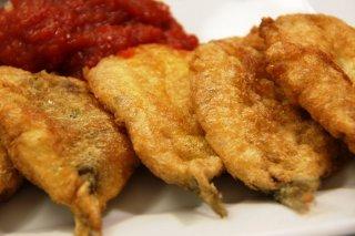 Receta de sardinas rebozadas fritas