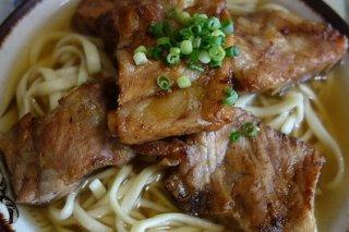 Receta de secreto de cerdo con fideos chinos