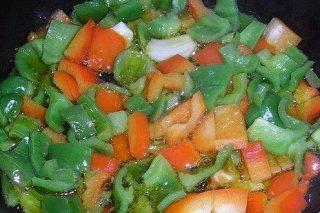 Receta de sofrito de verduras