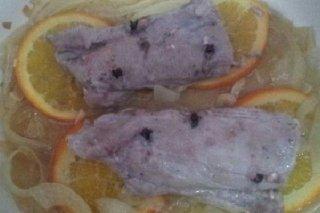 Receta de solomillo a la naranja con cebolla