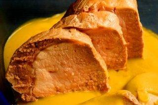 Receta de solomillo a la naranja