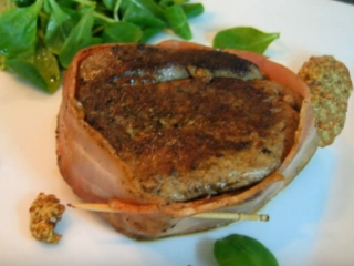 Receta de solomillo con bacon