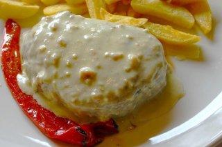Receta de solomillo con salsa de queso