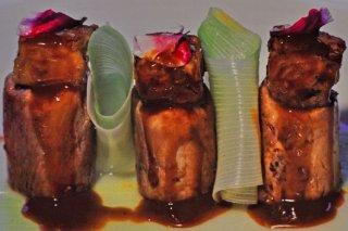 Receta de solomillo de cerdo con foie