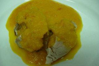 Receta de solomillo de cerdo con salsa agridulce