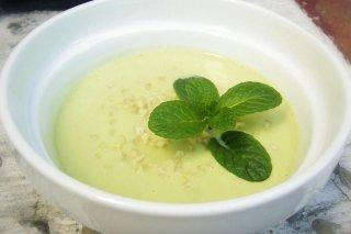 Receta de sopa de aguacate