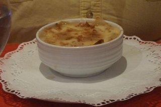Receta de sopa de ajo con champiñones