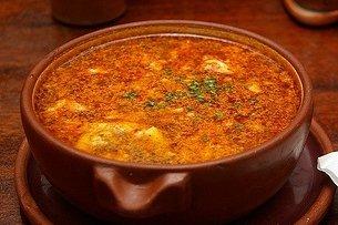 Receta de sopa de ajo con jamón