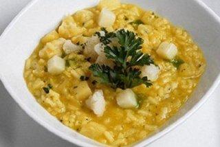 Receta de sopa de arroz con pescado