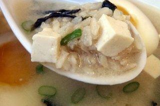 Receta de sopa de arroz con queso
