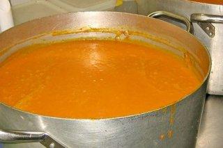Receta de sopa de calabaza amarilla